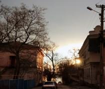 Феодосия.Февральское утро