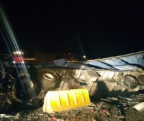 Два человека погибли при лобовом столкновении фур на трассе Керчь – Феодосия