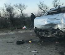Авария на участке трассы  «Керчь-Феодосия»