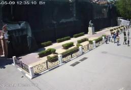 Веб-камеры Феодосии : Памятник Айвазовскому