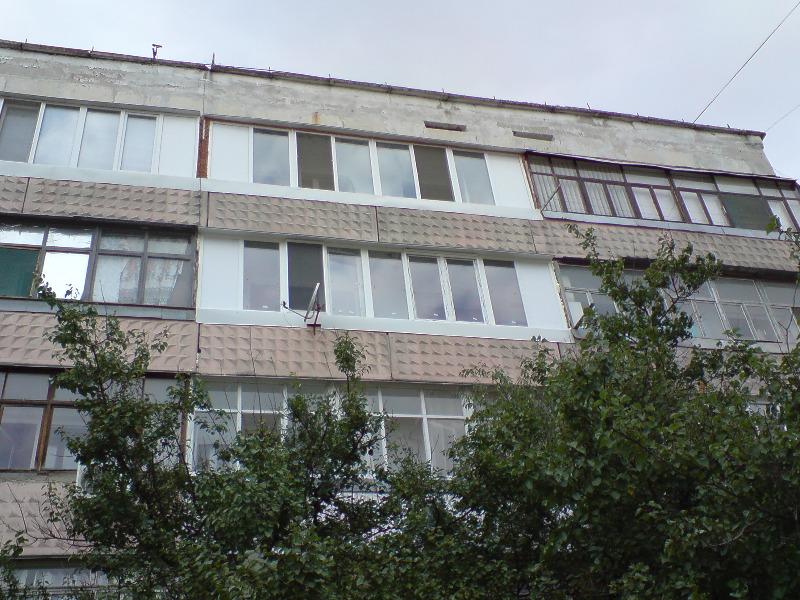 Балконы остекление