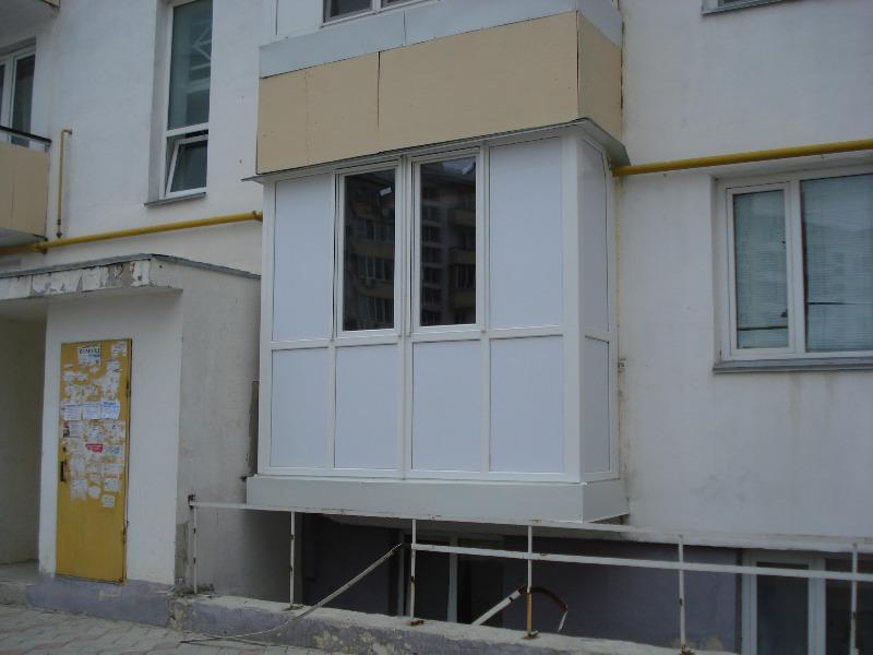 Балконы остекление  Французкий