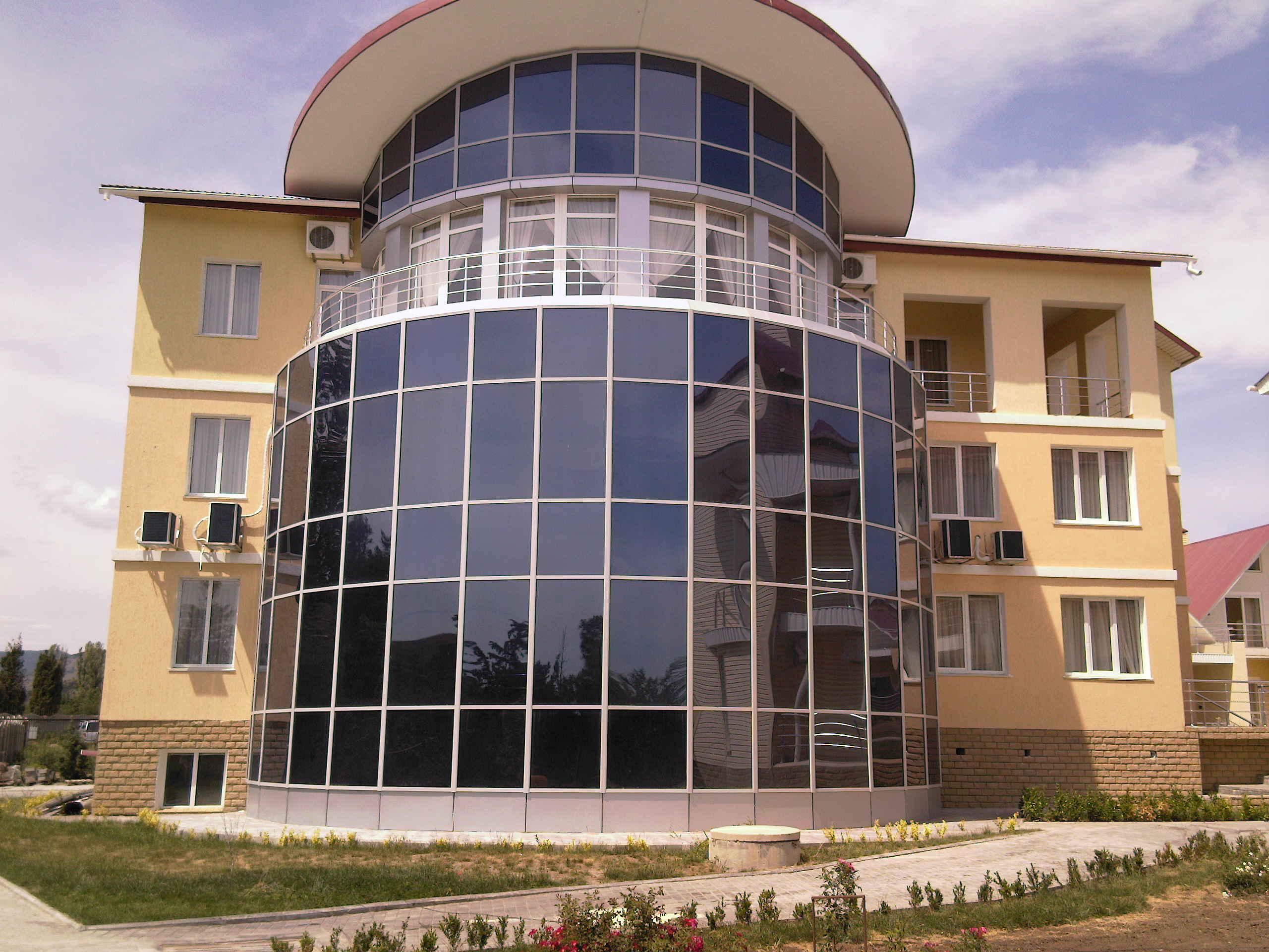 Фасады из алюминия